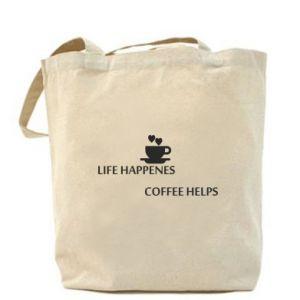 Torba Life happenes, coffee helps