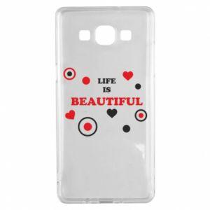 Etui na Samsung A5 2015 Life is beatiful, color