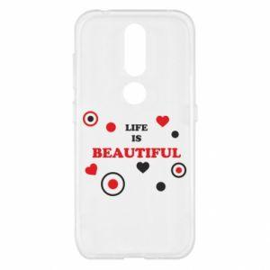 Etui na Nokia 4.2 Life is beatiful, color
