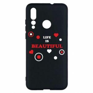 Etui na Huawei Nova 4 Life is beatiful, color
