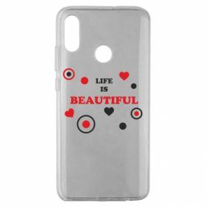 Etui na Huawei Honor 10 Lite Life is beatiful, color