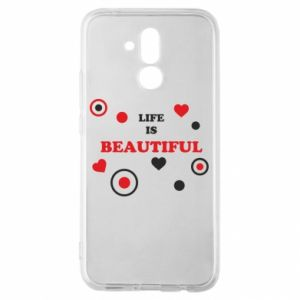 Etui na Huawei Mate 20 Lite Life is beatiful, color