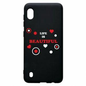 Etui na Samsung A10 Life is beatiful, color
