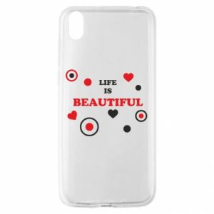 Etui na Huawei Y5 2019 Life is beatiful, color