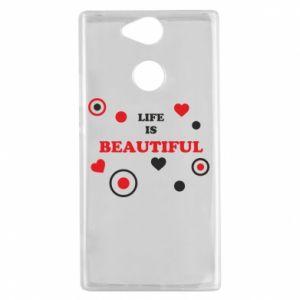 Etui na Sony Xperia XA2 Life is beatiful, color