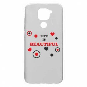 Etui na Xiaomi Redmi Note 9/Redmi 10X Life is beatiful, color