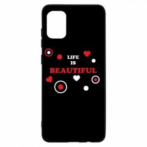 Etui na Samsung A31 Life is beatiful, color