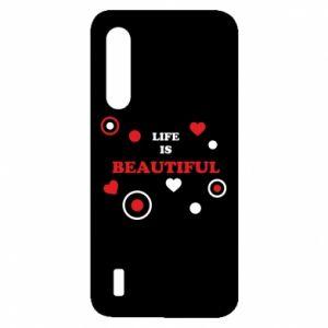 Etui na Xiaomi Mi9 Lite Life is beatiful, color