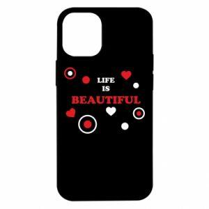 Etui na iPhone 12 Mini Life is beatiful, color
