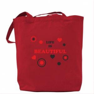 Bag Life is beatiful,  color