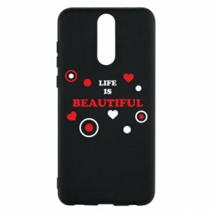 Phone case for Huawei Mate 10 Lite Life is beatiful,  color