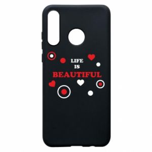 Phone case for Huawei P30 Lite Life is beatiful,  color