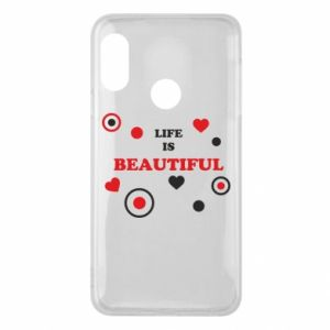 Phone case for Mi A2 Lite Life is beatiful,  color
