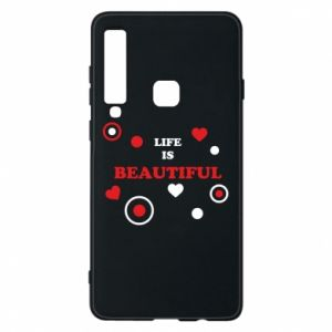 Phone case for Samsung A9 2018 Life is beatiful,  color