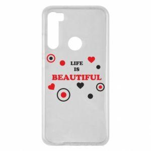 Etui na Xiaomi Redmi Note 8 Life is beatiful, color