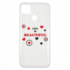 Etui na Xiaomi Redmi 9c Life is beatiful, color