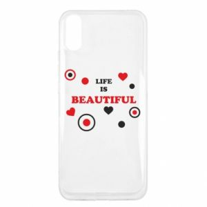 Etui na Xiaomi Redmi 9a Life is beatiful, color