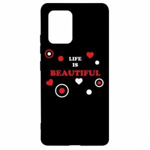 Etui na Samsung S10 Lite Life is beatiful, color