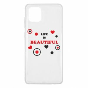 Etui na Samsung Note 10 Lite Life is beatiful, color