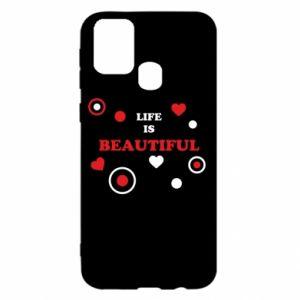 Etui na Samsung M31 Life is beatiful, color