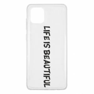 Etui na Samsung Note 10 Lite Life is beatiful