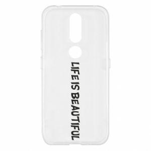 Etui na Nokia 4.2 Life is beatiful