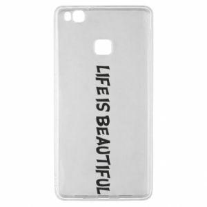 Etui na Huawei P9 Lite Life is beatiful