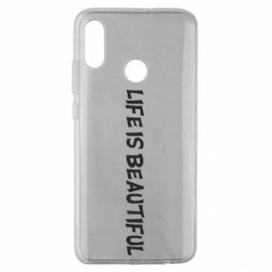 Etui na Huawei Honor 10 Lite Life is beatiful