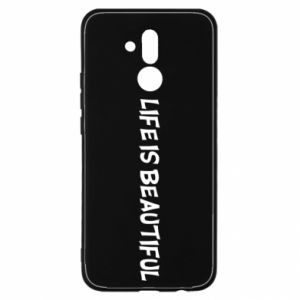 Etui na Huawei Mate 20 Lite Life is beatiful