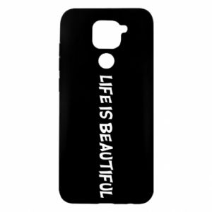 Etui na Xiaomi Redmi Note 9/Redmi 10X Life is beatiful