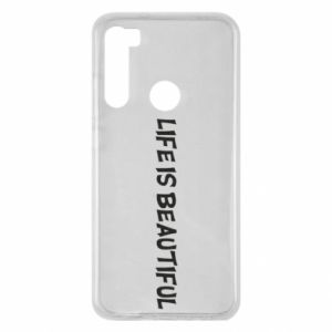 Etui na Xiaomi Redmi Note 8 Life is beatiful