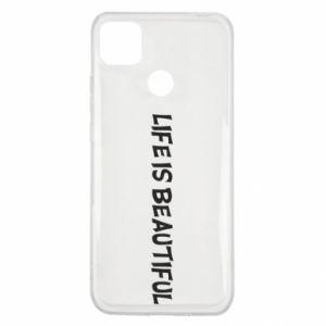 Etui na Xiaomi Redmi 9c Life is beatiful