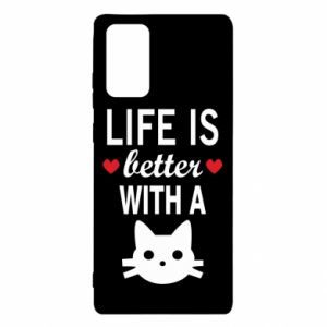 Samsung Note 20 Case Life is better with a cat