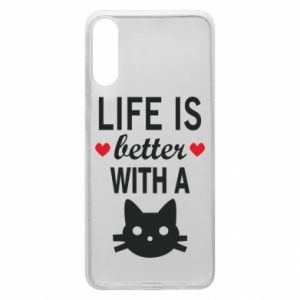 Samsung A70 Case Life is better with a cat