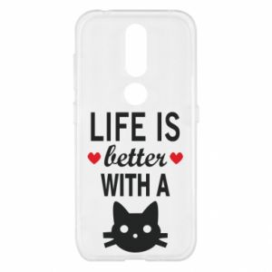 Nokia 4.2 Case Life is better with a cat