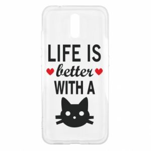 Nokia 2.3 Case Life is better with a cat