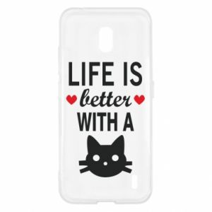 Nokia 2.2 Case Life is better with a cat
