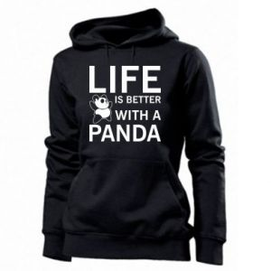 Damska bluza Life is better with a panda