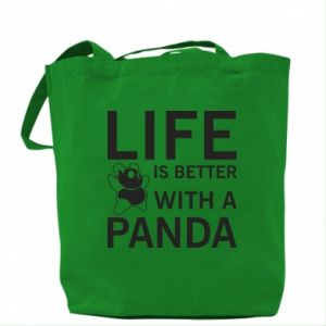 Torba Life is better with a panda