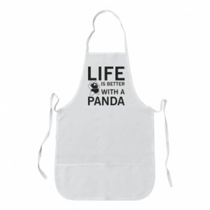 Fartuch Life is better with a panda