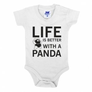 Body dla dzieci Life is better with a panda