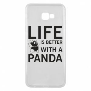 Etui na Samsung J4 Plus 2018 Life is better with a panda