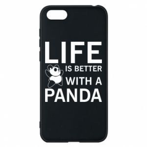 Etui na Huawei Y5 2018 Life is better with a panda