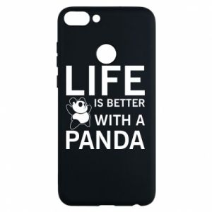 Etui na Huawei P Smart Life is better with a panda