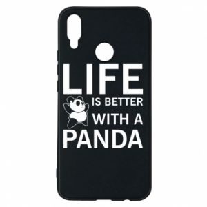 Etui na Huawei P Smart Plus Life is better with a panda