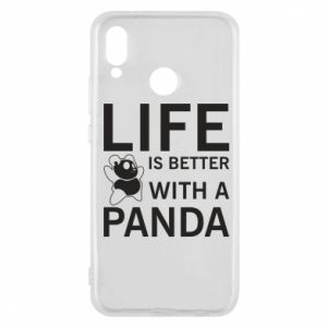 Etui na Huawei P20 Lite Life is better with a panda