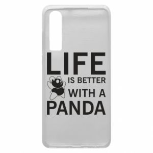 Etui na Huawei P30 Life is better with a panda