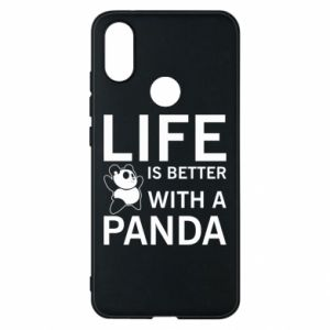 Etui na Xiaomi Mi A2 Life is better with a panda