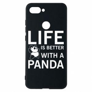 Etui na Xiaomi Mi8 Lite Life is better with a panda