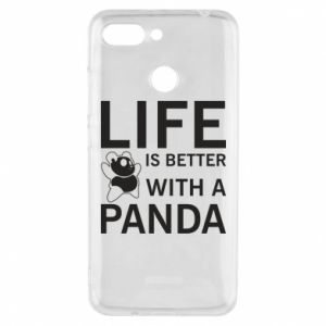 Etui na Xiaomi Redmi 6 Life is better with a panda